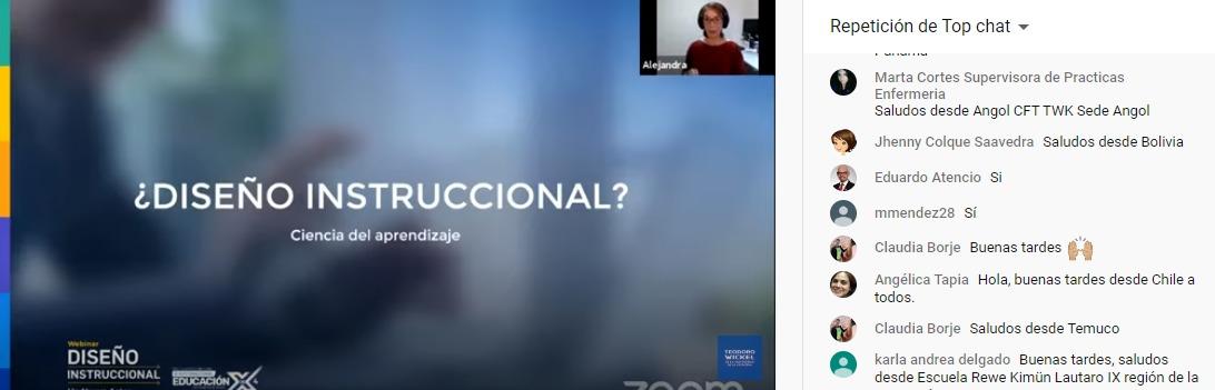 Alejandra Ávila, Diseñadora Instruccional de Organización Panamericana de la Salud